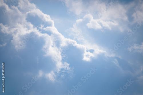Fototapeta pochmurne niebo obraz