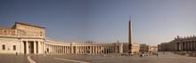Piazza San Pietro Vuota Durante Il Lockdown, Roma