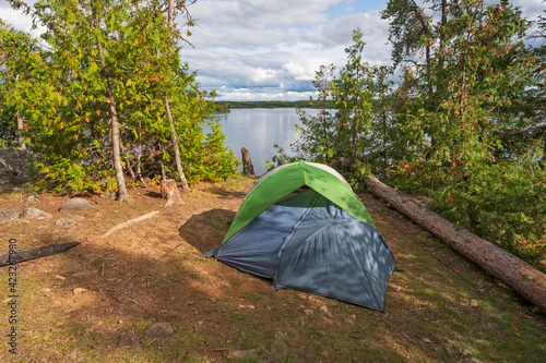 Photo Campsite in the Great North Woods