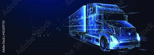 Fotografie, Obraz Tractor truck