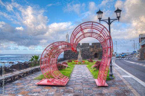 Billede på lærred Castle of San Miguel at Garachico, Tenerife, Canary Islands, Spain