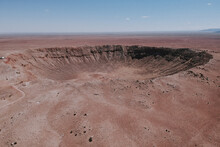 Meteor Crater Out In Arizona
