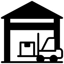 Parcels On Pallet Showcasing Bendi Truck Icon