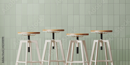 Murais de parede Minimal style mockup for product presentation