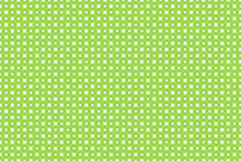 Seamless Pattern With Dots. Green Halftone Background. Abstract Backdrop With Circles, Points, Dots. Dotted Pattern
