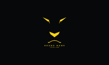 Logo Vector Of Lion Head Simple Style. Logotype For Template.