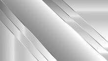 Modern Luxury Silver Background