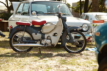 旧車のカブ