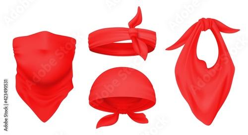 Valokuva Red bandana