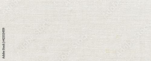 Fotografia, Obraz white canvas texture cardboard paper packing texture background