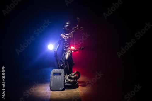 Fotografie, Tablou Law concept