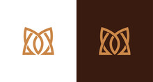 Sharp, Classy And Luxury Letter M Monogram Logo