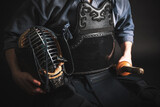 Equipment for kendo practicing.