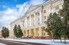 The Building Of The House Of Soviets In Smolensk