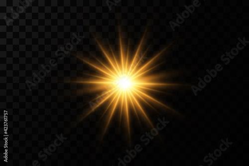 Obraz abstract background with stars - fototapety do salonu