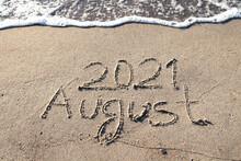 AUGUST 2018 On A Gentle Beach Sand