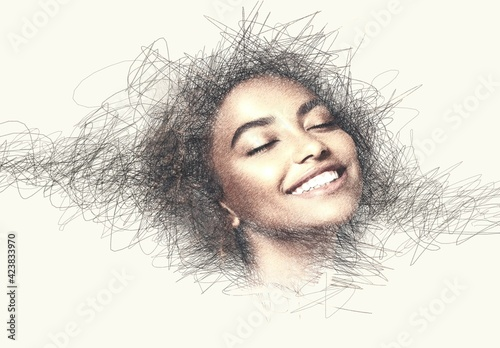 Obraz Pencil Sketch Effect - fototapety do salonu