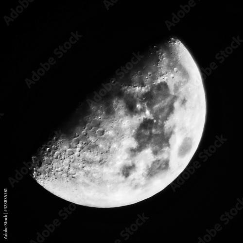 Halbmond bei Nacht Fototapet