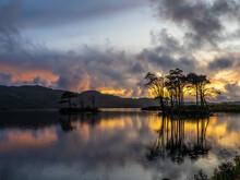 Loch Assynt Autumn Sunset