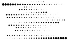 Dot, Circles, Dotted Lines Abstract Design Element. Stipple, Stippling And Speckles Effect