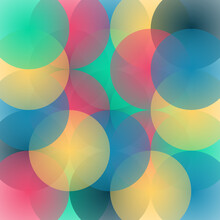 Esferas Coloridas Transparencia