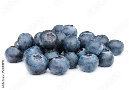 Fotografering blueberry or bilberry or blackberry or blue whortleberry or huckleberry isolated