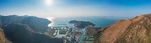 Aerial Panorama View Of Tai O, The Famous Travel Destination In Hong Kong