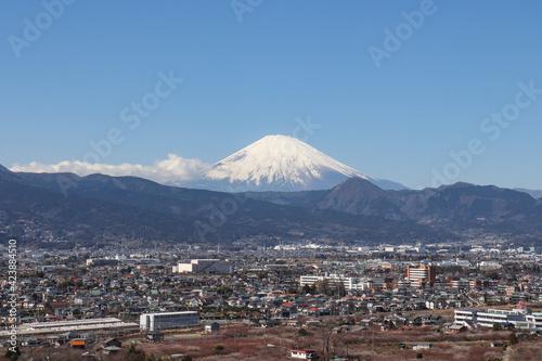 Fotografie, Obraz 足柄平野と富士山(神奈川県小田原市)