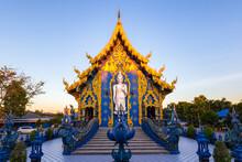 Wat Rong Sua Ten Temple, Chiang Rai Province, Thailand