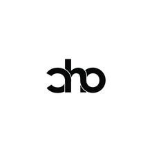 Cho Letter Original Monogram Logo Design