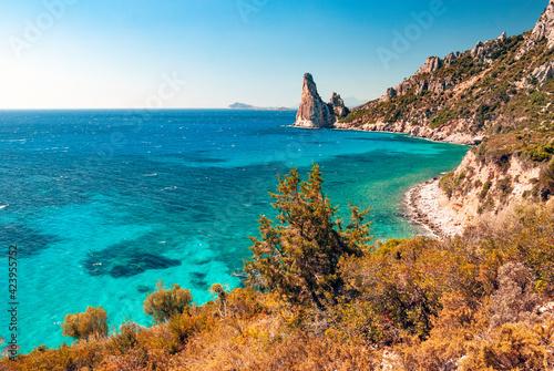 Obraz na plátně Sardegna, costa di Baunei, in Ogliastra, Italia