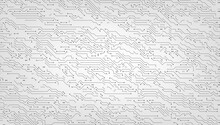Digital Background Black And White Circuit Board