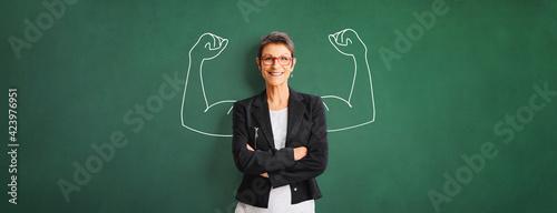 Fotografija Portrait of a successful, strong business woman