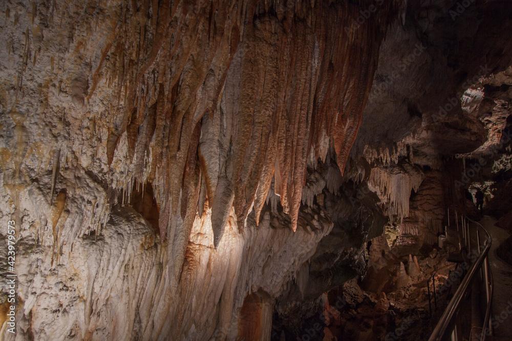 Fototapeta Jaskinia Demianowska  Wolności  w Tatrach Niżnych na Słowacji