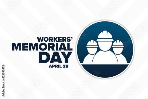 Fototapeta Workers' Memorial Day