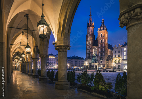 Fototapeta Kraków Stare Miasto  obraz
