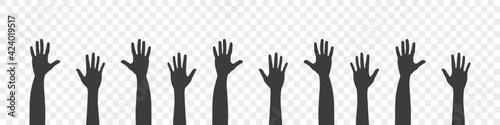 Tela Raised hands