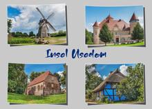 Postkarte Insel Usedom