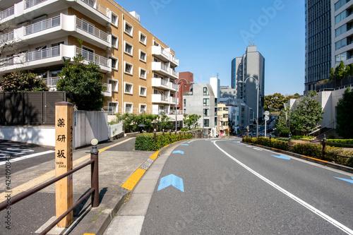 Fotografia, Obraz 東京都港区赤坂の薬研坂
