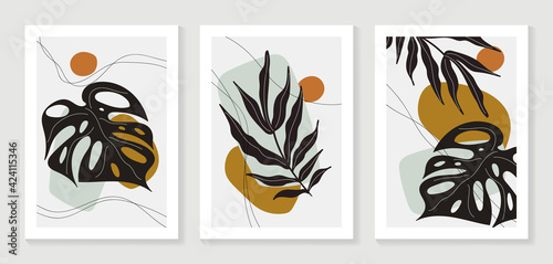 Canvas Print Abstract art nature background vector