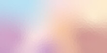Abstract Crystallize Light Gradient Purple Blue Pink Yellow Colored Blurred Background.