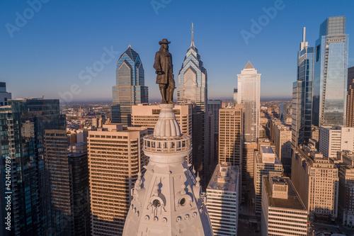 Papel de parede Statue of William Penn