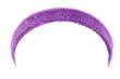 P_\urple training headband isolated on white