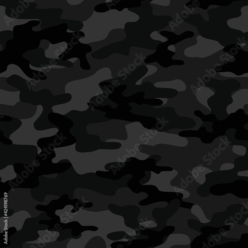 dark military camouflage Fototapet