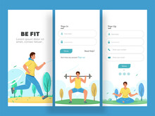 UI UX Kit Business Concept Infographic Elements Graphic Interface For Mobile App Application User Interface.