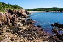 Acadia National Park In Maine USA
