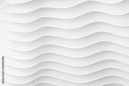 Obraz na plátne Architectural backgrouind of wavy lines