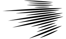 Dynamic 3D Lines In Perspective. Vanishing, Diminishing Lines, Stripes. Spatial Streaks, Strips Abstract Geometric Vector Illustrration