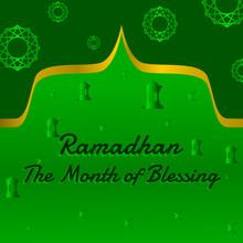 Editable Poster, Background, Greeting Ramadan Theme