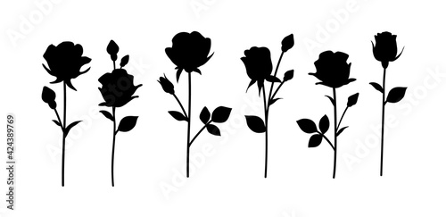 Obraz na plátně Flower icon